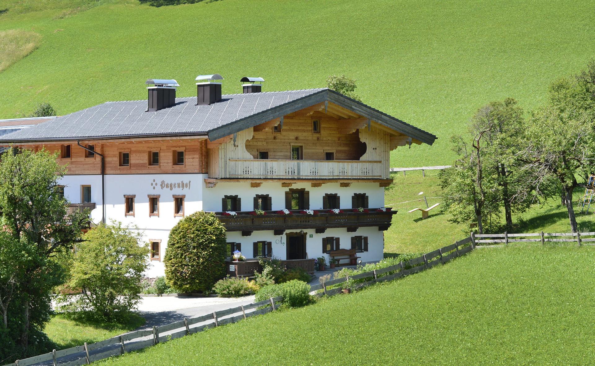 Der Hagenhof im Sommer