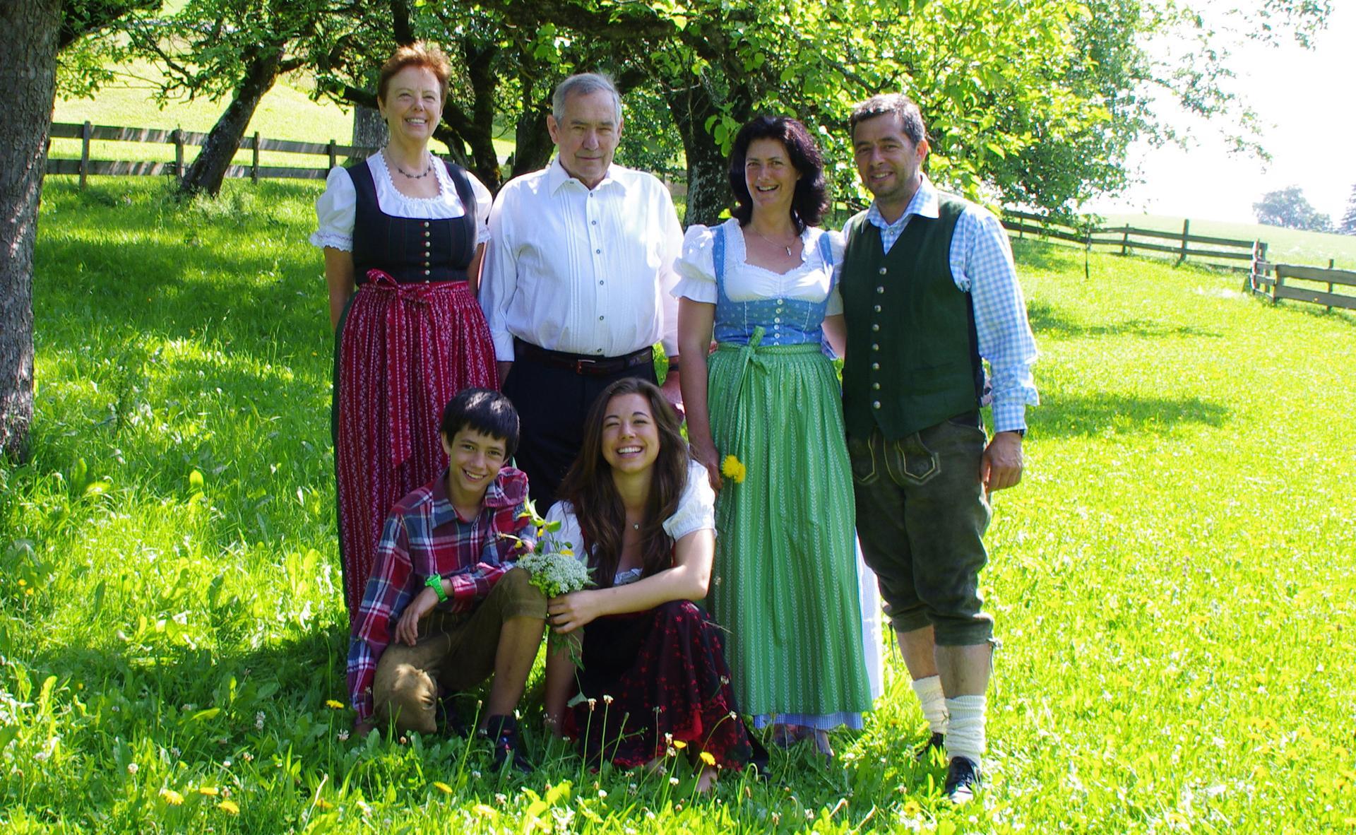 Ihre Gastgeber auf dem Hagenhof