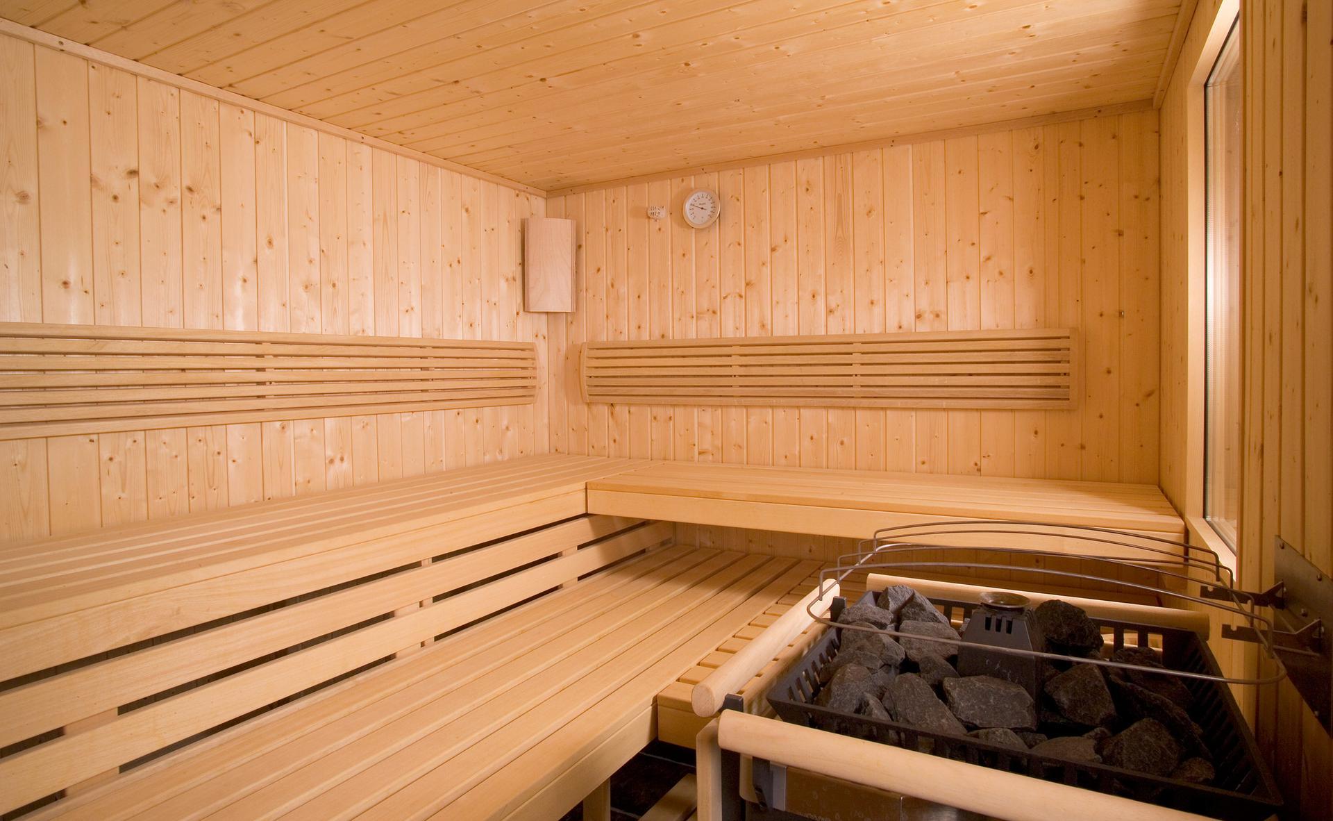 Entspannen Sie sich in unserer Sauna