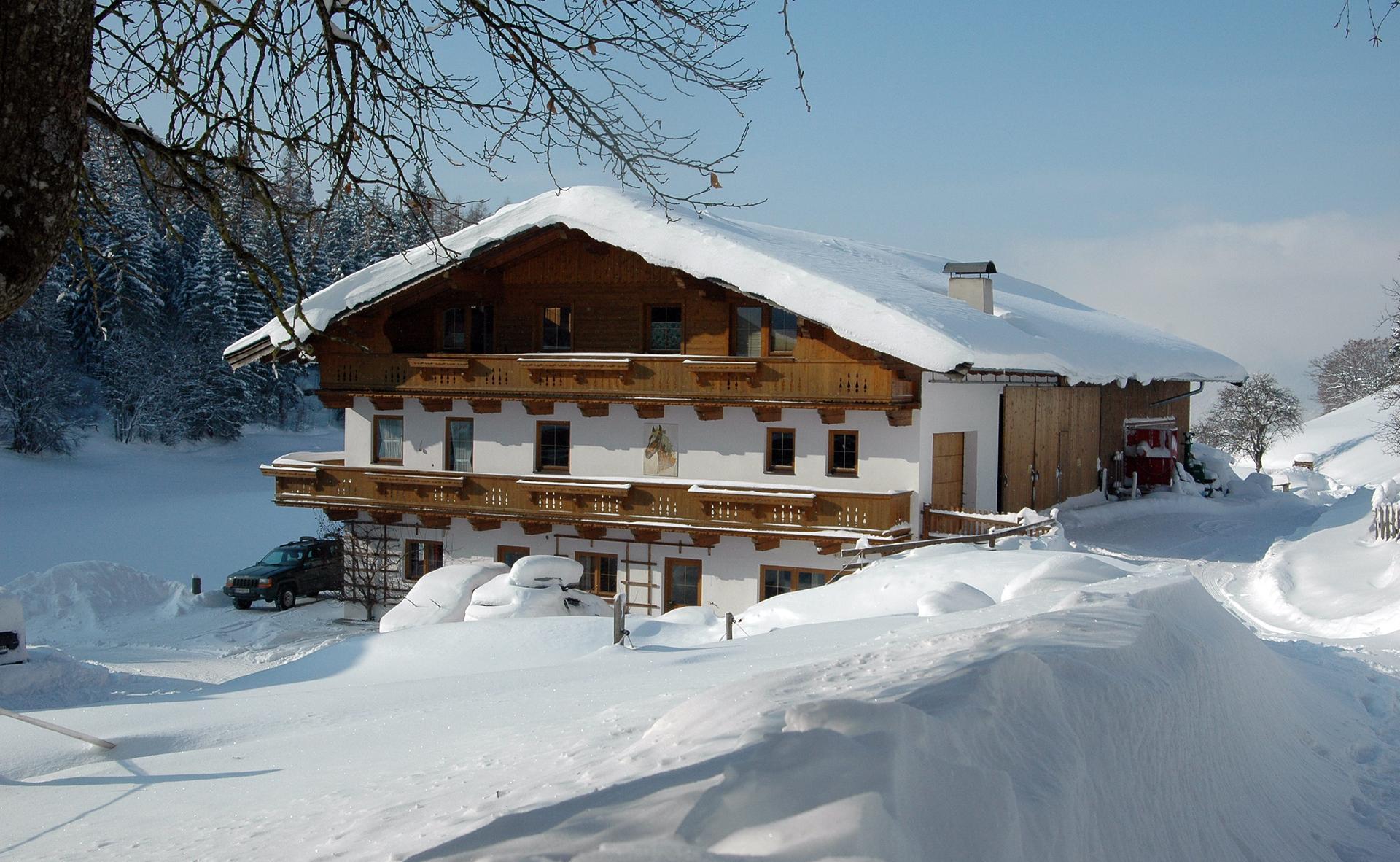 Der Hagenhof im Winter