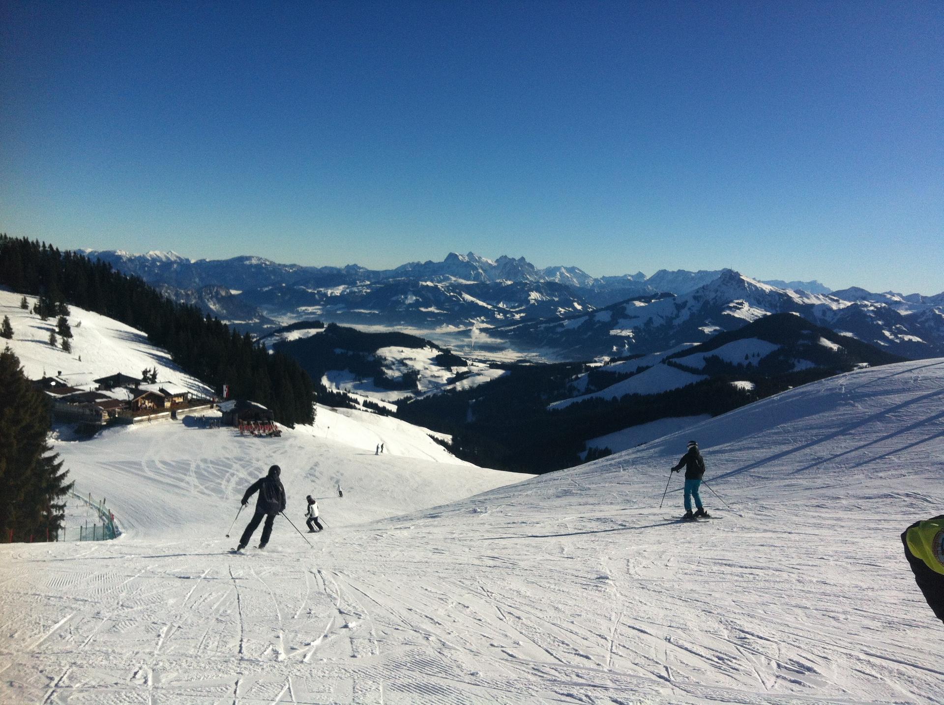 Panorama - Skifahren