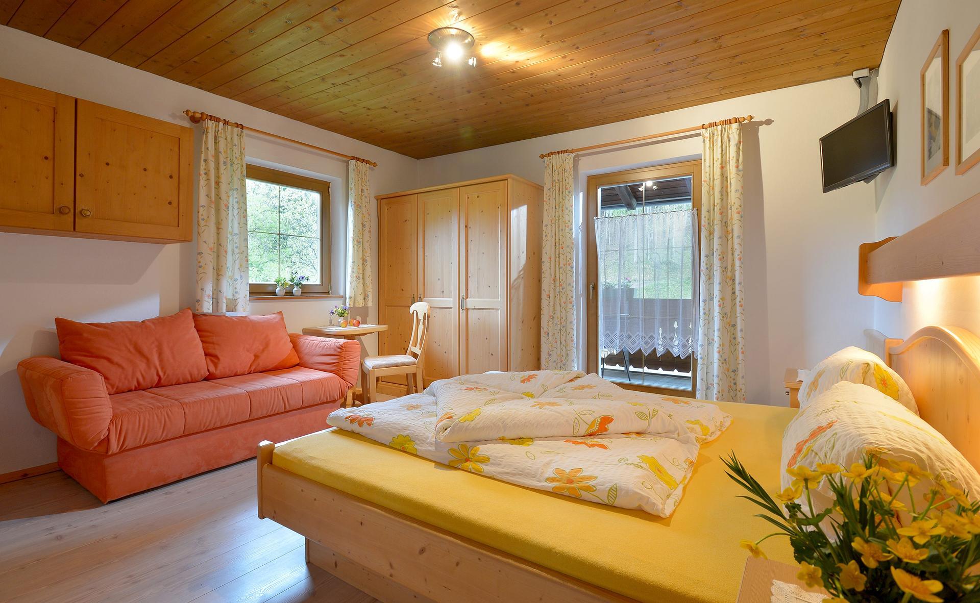 Liebevoll eingerichtetes Doppelzimmer