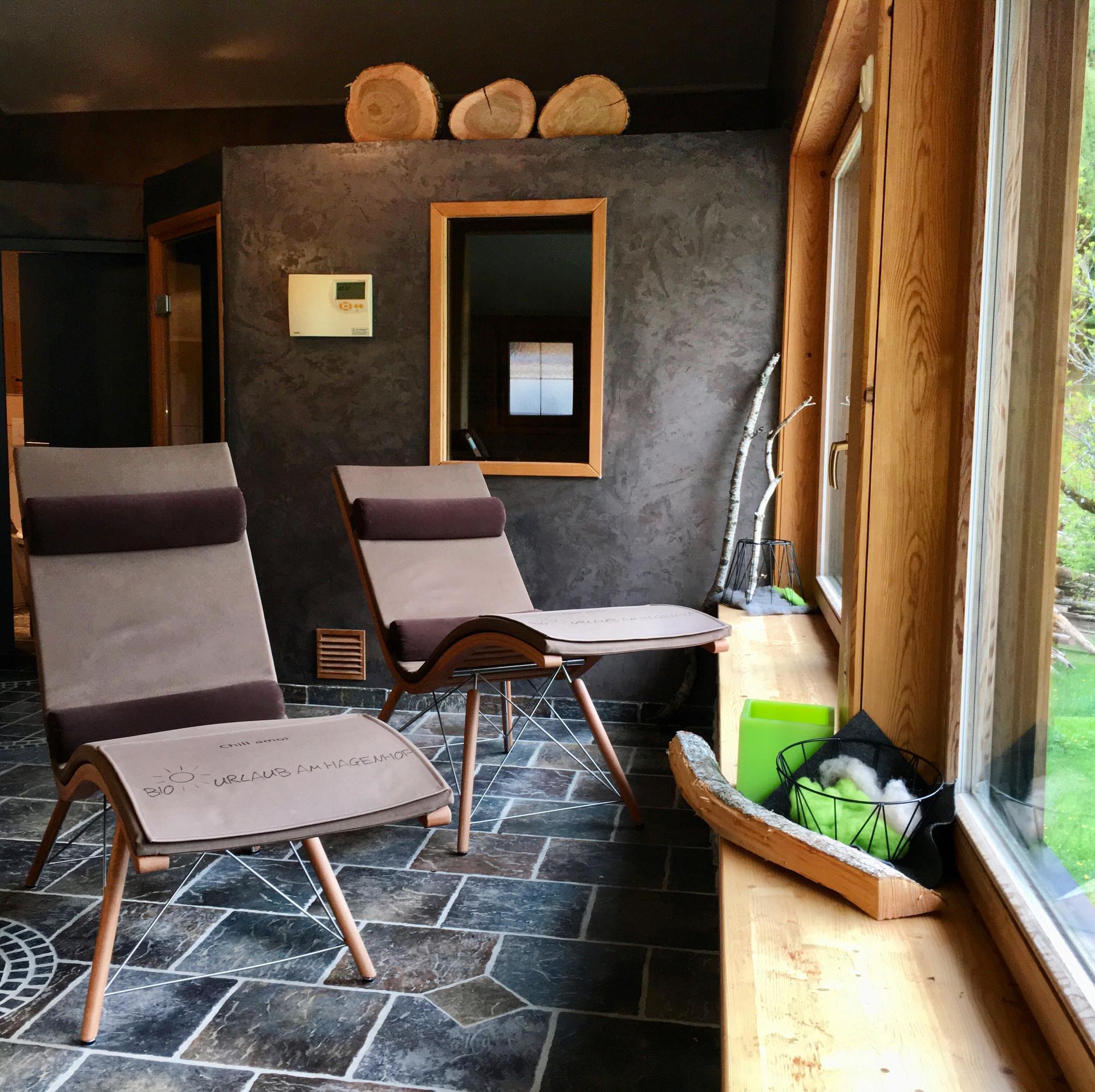 Entspannen in der Hagenhof-Sauna