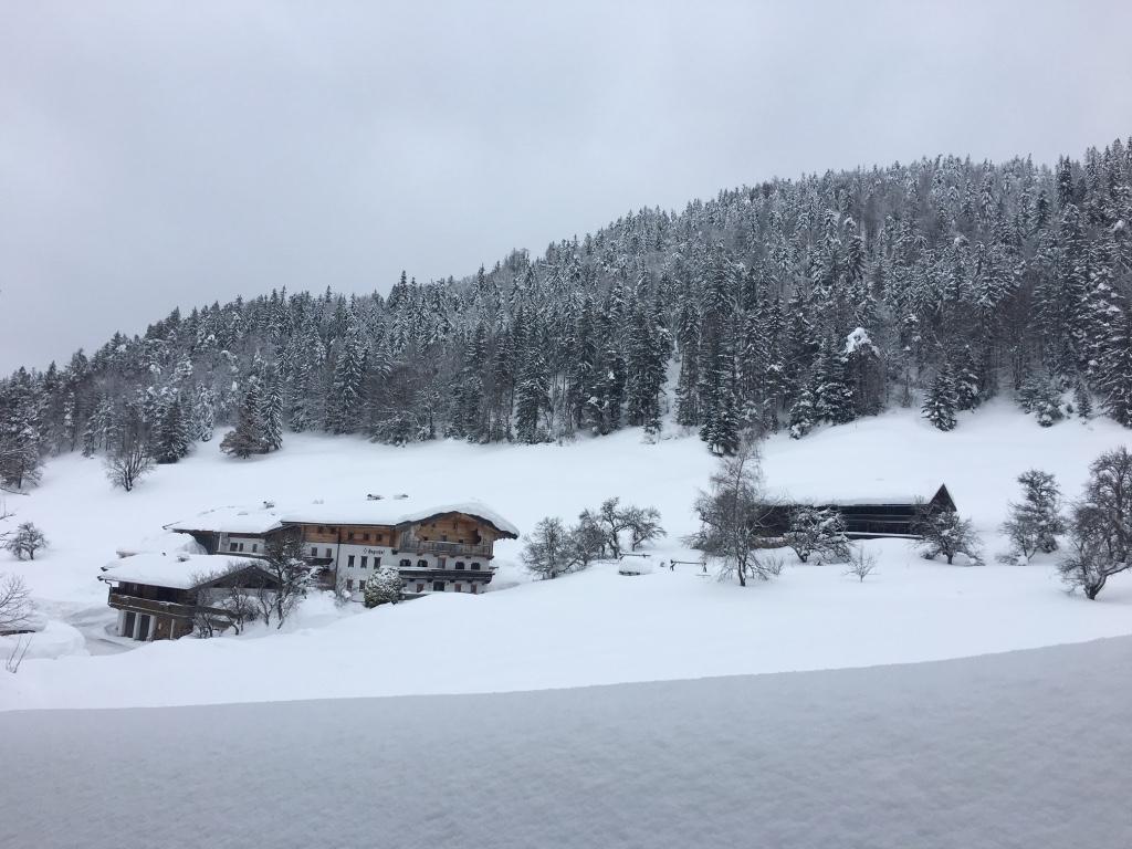 Der Hagenhof im Winterkleid