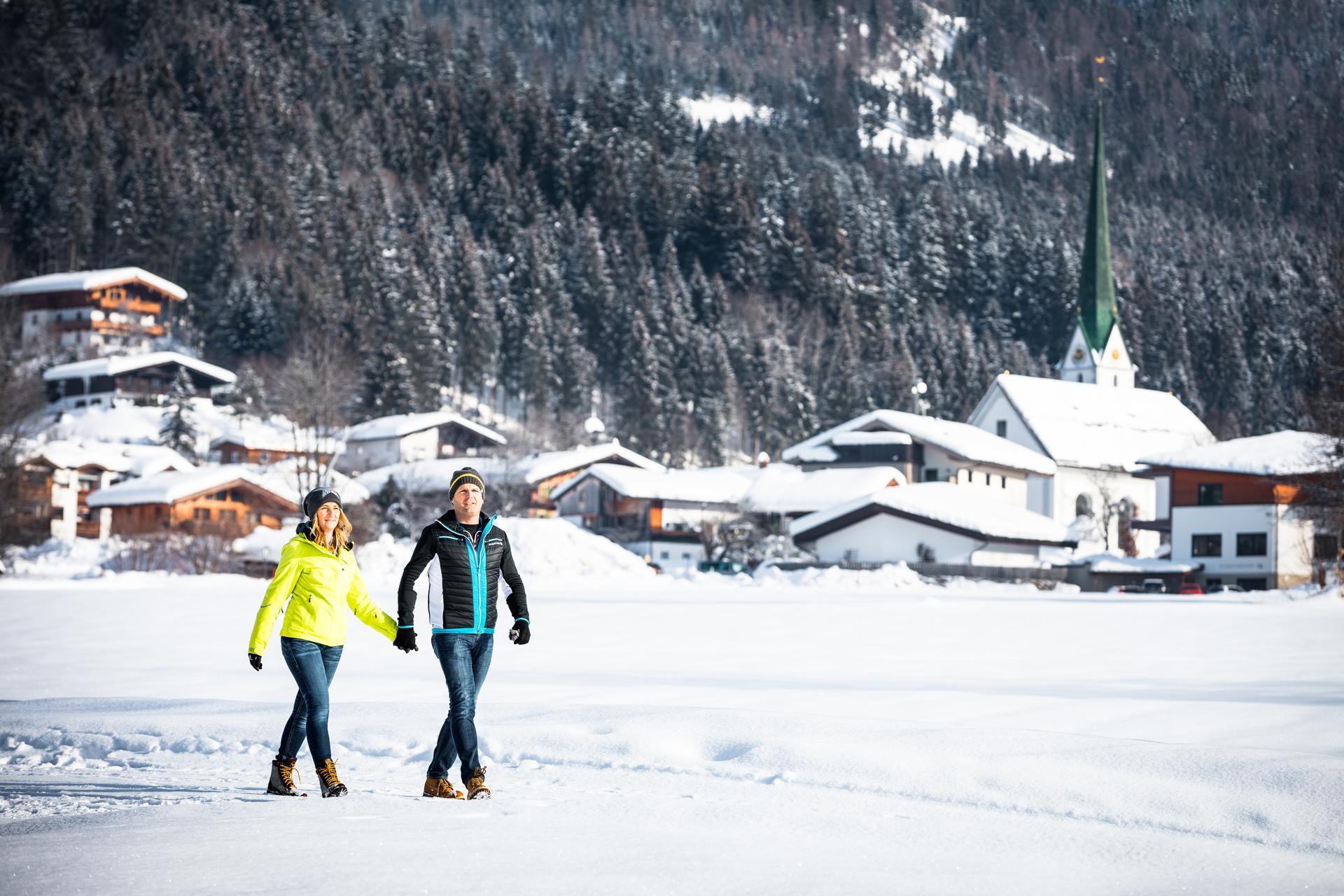 Winterwandern in Scheffau
